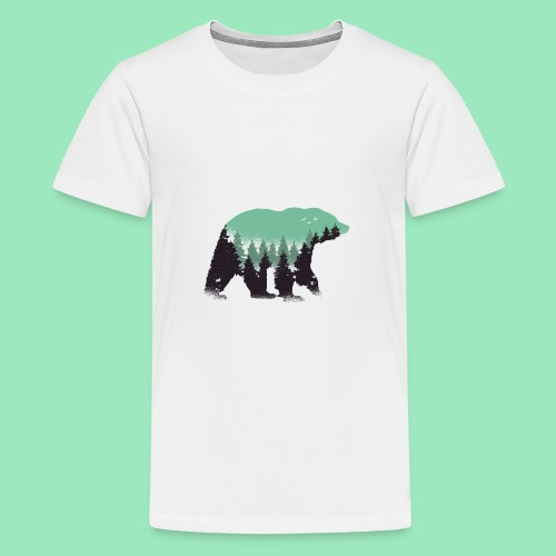 Forest bear - Teenager Premium T-shirt