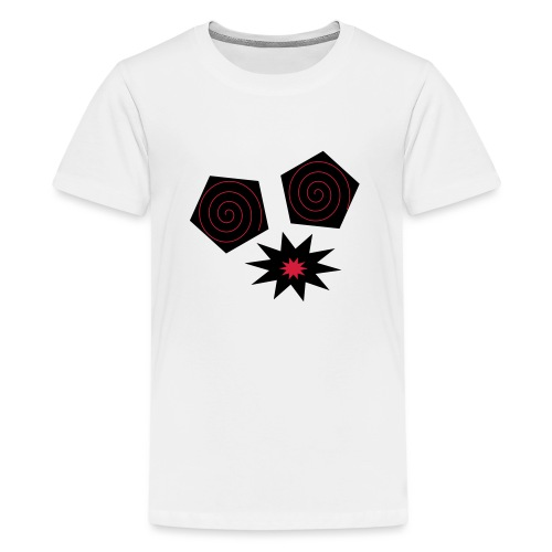 design yeux monstrueux - T-shirt Premium Ado