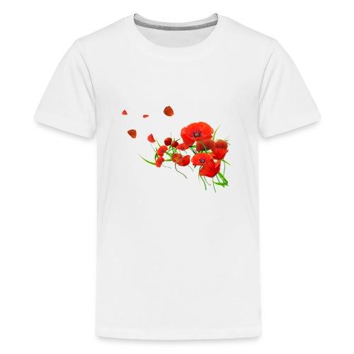 Coquelicots - T-shirt Premium Ado