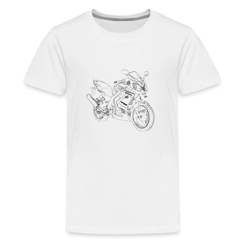 snm daelim roadwin r outline b png - Teenager Premium T-Shirt