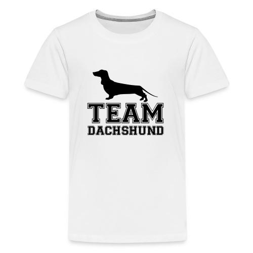 team-dachshund - Maglietta Premium per ragazzi