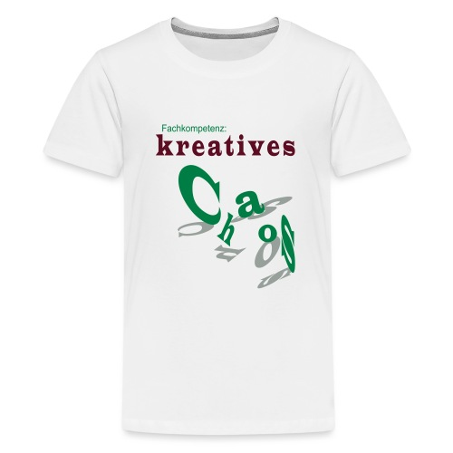 kreatives Chaos - Teenager Premium T-Shirt