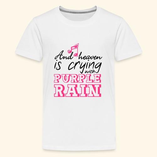 Heaven is crying - Prince - Teenage Premium T-Shirt