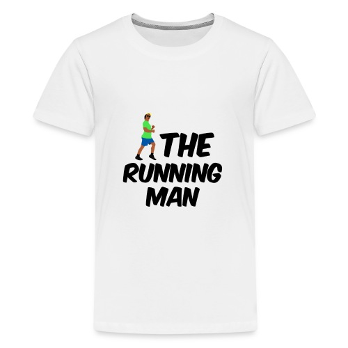 The Running Man Light Blue Short - Teenage Premium T-Shirt