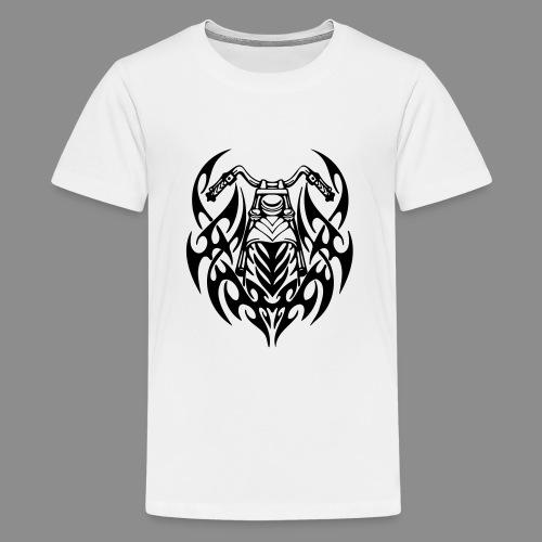 Moto Tribal - Camiseta premium adolescente