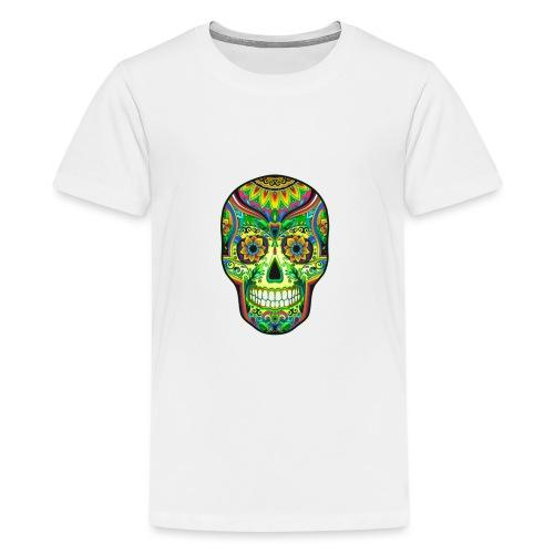 El día de los Muertos Cranes motif - T-shirt Premium Ado
