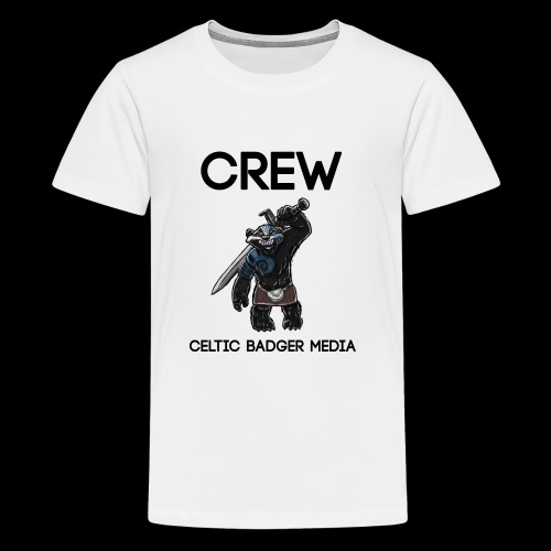 CBM Staff Back - Teenage Premium T-Shirt