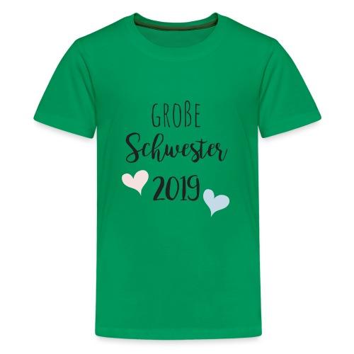 Große Schwester 2019 - Teenager Premium T-Shirt