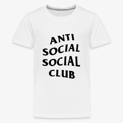 antisocialclub - Premium-T-shirt tonåring