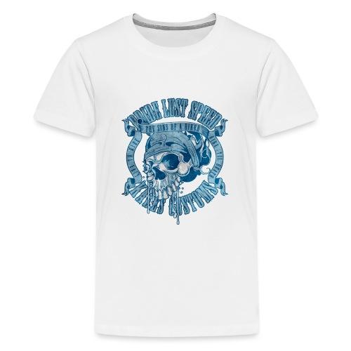 Kabes Sins of a Biker - Teenage Premium T-Shirt
