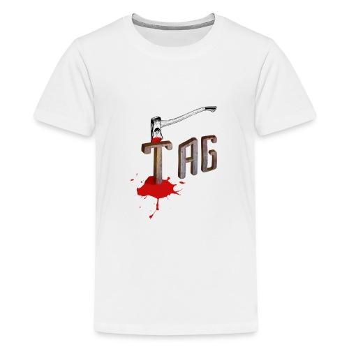 Hache Tag - T-shirt Premium Ado