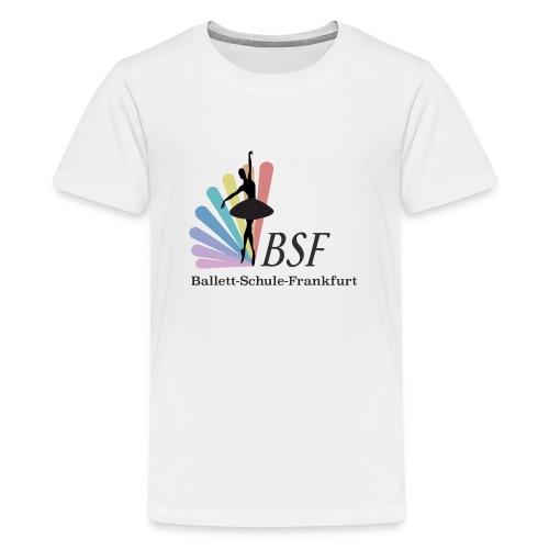Ballett-Schule-Frankfurt - Teenager Premium T-Shirt