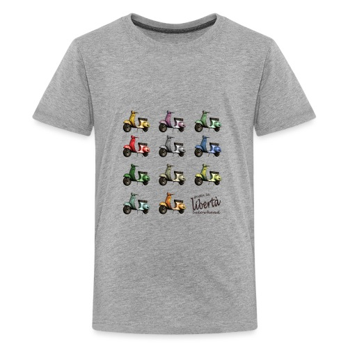 ♂ BIO-SHIRT: gusta la libertà - Teenager Premium T-Shirt