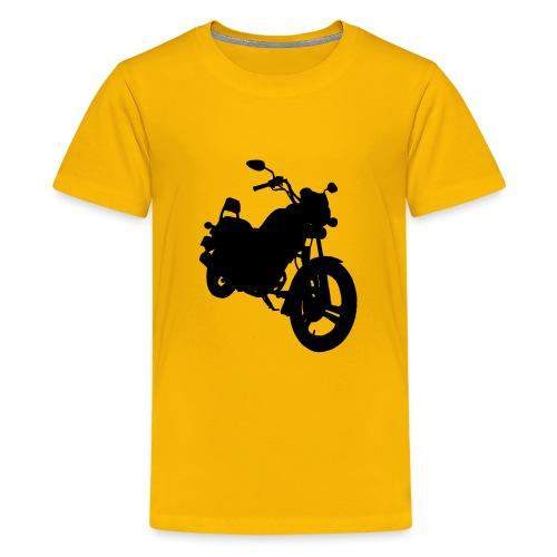 Daelim VS, Silhouette von vorne rechts - Teenager Premium T-Shirt
