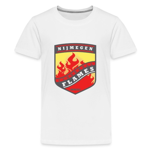 trainingsjack rood - Teenager Premium T-shirt