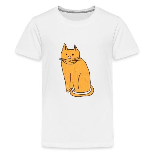 Cat Travel Mug - Teenage Premium T-Shirt