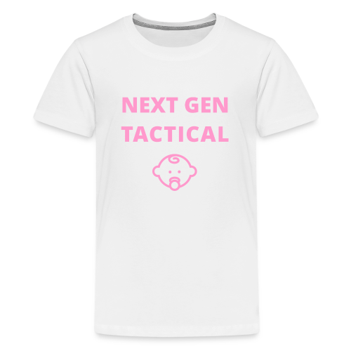 Tactical Baby Girl - Teenager Premium T-shirt