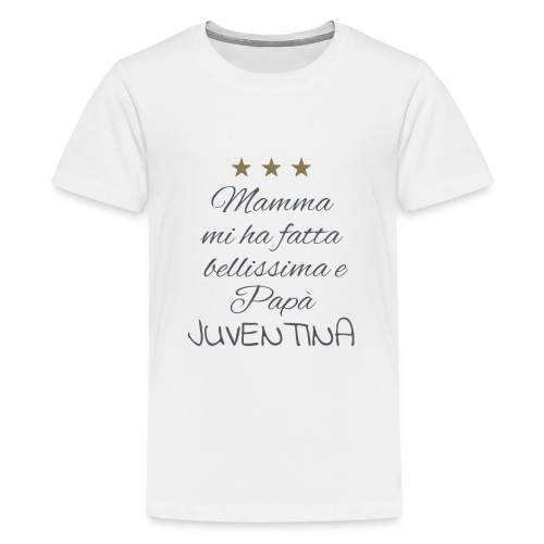Juventina - Maglietta Premium per ragazzi