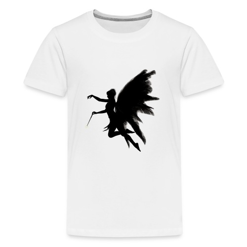 Fairy design angel with angelwings - Teenager Premium T-shirt