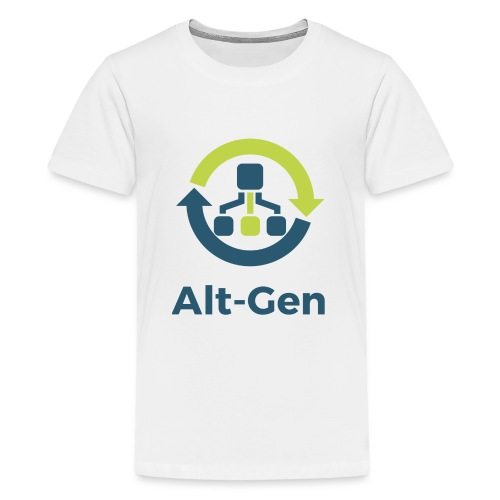 Alt-Gen Logo - Teenage Premium T-Shirt