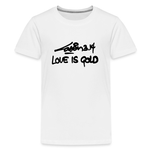 loveisgold kids shirt - Teenage Premium T-Shirt