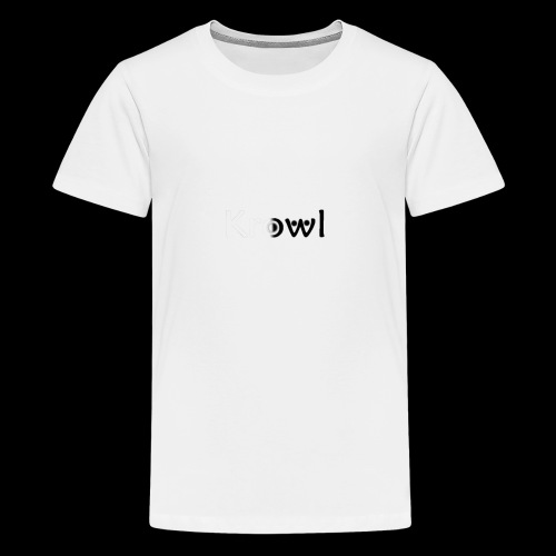 Krowl 1st Yin & Yang Design - T-shirt Premium Ado