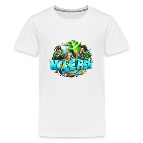 Großes Logo - Teenager Premium T-Shirt
