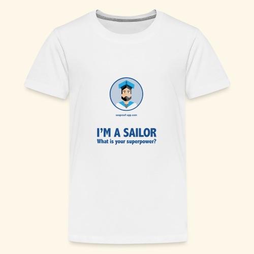 SeaProof Superpower - Teenager Premium T-Shirt