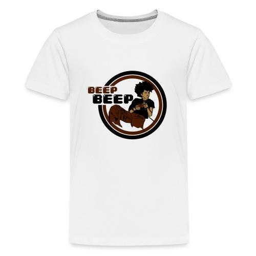 Beep Beep Gamer - Teenage Premium T-Shirt