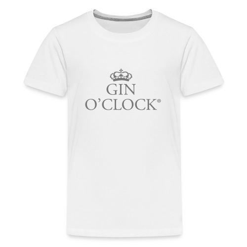 Gin O'Clock - Teenage Premium T-Shirt