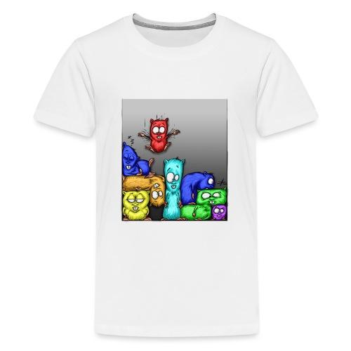 hamstris_farbe - Teenager Premium T-Shirt