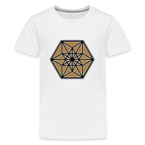 Kuboktaeder, Buckminster Fuller, Heilige Geometrie - Teenager Premium T-Shirt