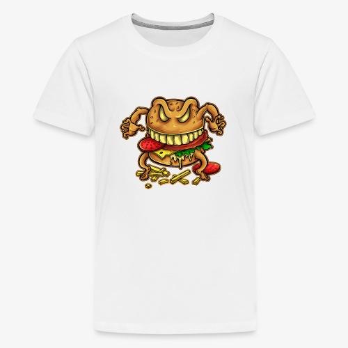 La malédiction du burger - T-shirt Premium Ado