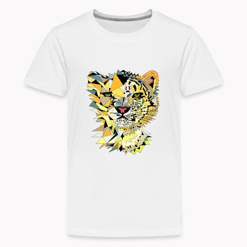 Chat léopard animal - T-shirt Premium Ado