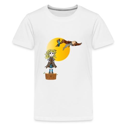 Energiewesen Intufina mit Diva - Teenager Premium T-Shirt