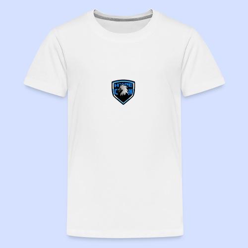 HypeCw logo (Silver) - Teenage Premium T-Shirt