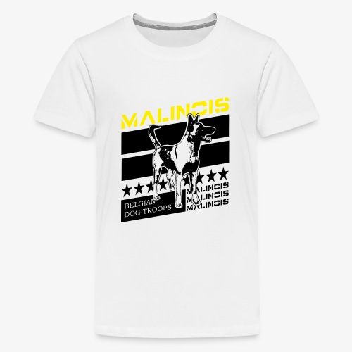 Malinois - Belgian Dog Troops - Teenager Premium T-Shirt