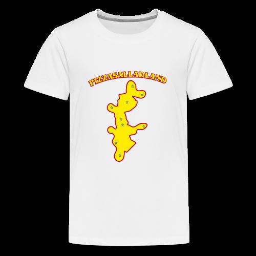 T-shirt, Pizzasalladland - Premium-T-shirt tonåring