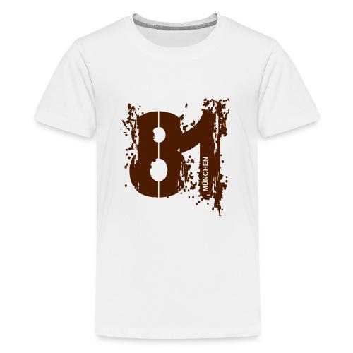 City_81_München - Teenager Premium T-Shirt