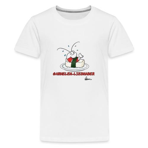 garnelenliebhaber - Teenager Premium T-Shirt