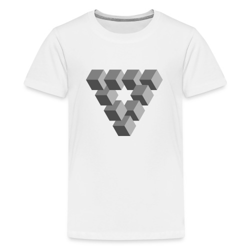 Illusions - T-shirt Premium Ado