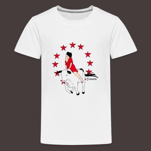 Europa - T-shirt Premium Ado