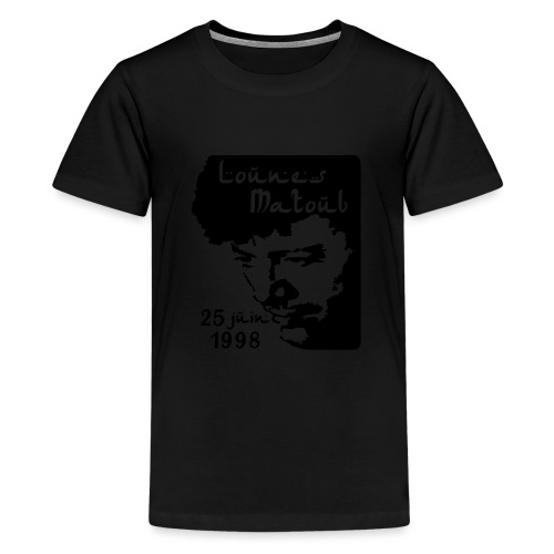 Motif hommage à Lounes Matoub - T-shirt Premium Ado