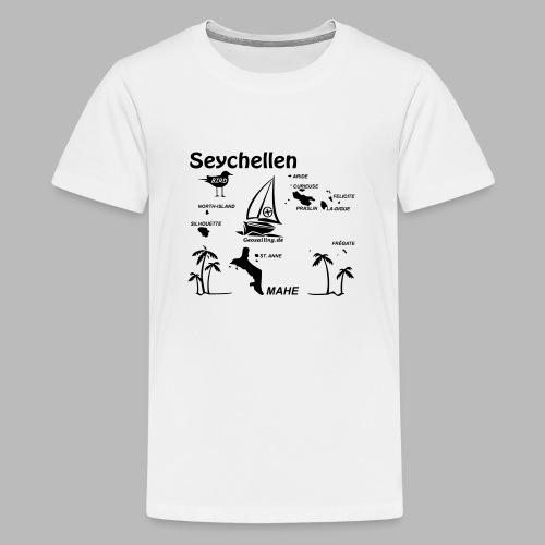 Seychellen Insel Crewshirt Mahe etc. - Teenager Premium T-Shirt