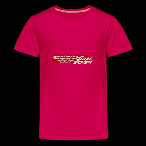 OVER REASON 2 - Camiseta premium adolescente
