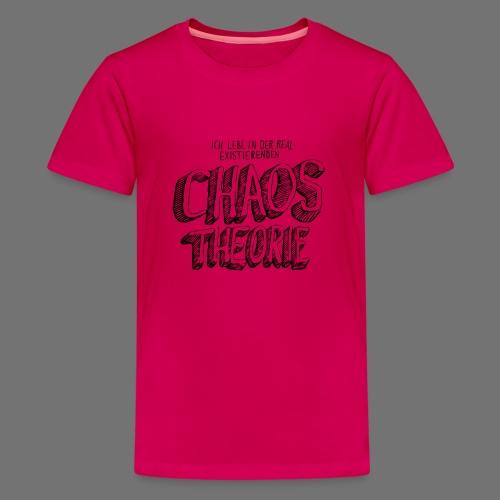 Chaostheorie (schwarz) - Teenager Premium T-Shirt