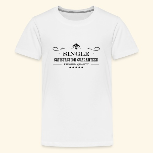 Single, bachelor - T-shirt Premium Ado