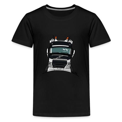 0488 V truck wit - Teenager Premium T-shirt