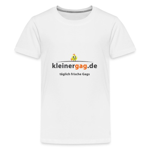 logotransp png - Teenager Premium T-Shirt