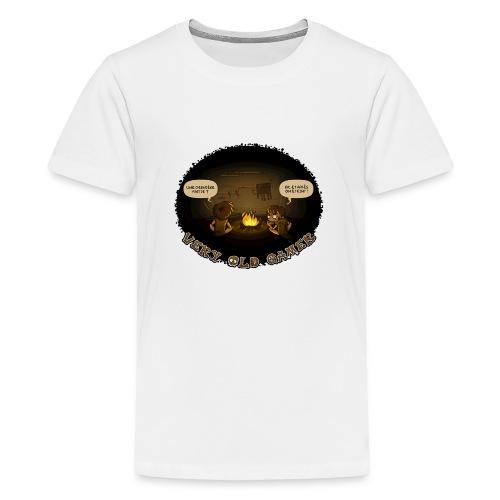 very old gamer Homme - T-shirt Premium Ado